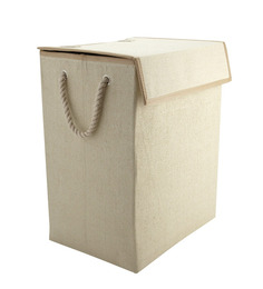 My Gift Booth Beige Canvas Organizer