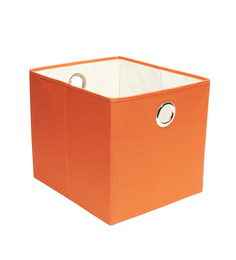My Gift Booth Orange Nonwoven Laundry Basket