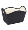 My Gift Booth Nylon 5 L Black Laundry Basket