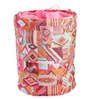 My Gift Booth Nylon 20 L Multicolour Collapsible Laundry Bag