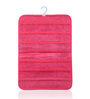 My Gift Booth Non-Woven & PVC Pink 42 Pocket Jewellery Organiser
