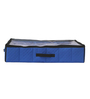 My Gift Booth Non-Woven Royal Blue Underbed Shoe Organiser