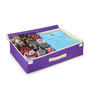 My Gift Booth Non-Woven Purple Lingerie Organiser