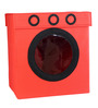 My Gift Booth Nylon 20 L Red Laundry Basket