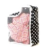 My Gift Booth Cotton & Can-Can Black Clothes Organiser - Set of 2