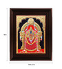 Myangadi Multicolour Gold Plated Thayaar Padmavathi Framed Painting