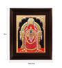 Myangadi Multicolour Gold Plated Thayaar Padmavathi Framed Painting