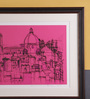 Nagarnama Florence 03, by Harshil Patel. Serigraph on Paper, 18 X 14 Inch