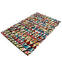 Nako Area Rug 91 x 63 Inch in Multicolour by Amberville