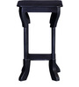 Barlow End Table in Espresso Walnut Finish by Amberville
