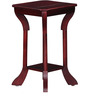 Barlow End Table in Passion Mahogany Finish by Amberville