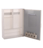 Navrang White Acrylic Medium Wall Cabinet