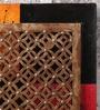 NB Home Interior Industry Multicolour MDF & Mango Wood Wall Panel