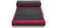 Neno Single Seater Sofa cum Bed in Black & Red Colour by HomeTown