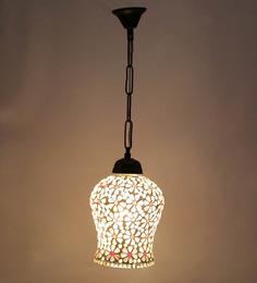 New Era White Glass Hanging Lamp