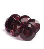 Neerja Purple Glass Easy To Install Door Knob - Set Of 6