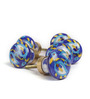 Neerja Multicolour Ceramic Pottery Door Knob - Set Of 6