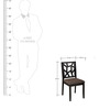 Nest Dining Chair in Dark Finish by StyleSpa