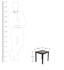 Nesting Table (set of 3) in Black Colour by ClasiCraft