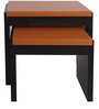 Set of Tables in Black & Ox Cherry by Urban Influence