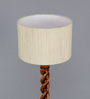 Upasri Floor Lamp in Off White by Mudramark