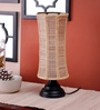 San Diego Table Lamp in Brown by CasaCraft
