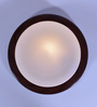 Camilio Flush Mounted in Brown by CasaCraft