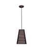 New Era Conical Brown Mdf & Stiffner Pendant