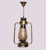 New Era Mosaic Finish Golden Hanging Lantern