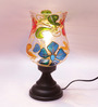 New Era Multicolour Metal & Glass Table Lamp