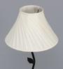 Navajo Floor Lamp in Off White by bohemiana