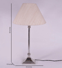 Barquisimeto Table Lamp in Off White by CasaCraft
