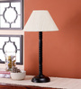 San Clemente Table Lamp in Off White by CasaCraft