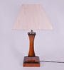 Aracaju Table Lamp in Off White by CasaCraft
