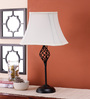 San Jacinto Table Lamp in Off White by CasaCraft