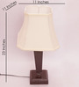 Callao Table Lamp in Off White by CasaCraft