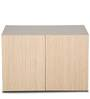 New Florid Pro Two Door Wall Mount Storage in Light Oak Finish by Godrej Interio
