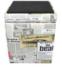 Newspaper Storage Ottoman by Orka
