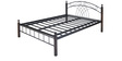 Nimbo Queen Bed in Black Colour by @home
