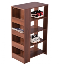 Nilkamal Imperia Brown Shoe Rack