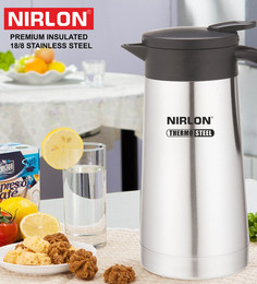 Nirlon Double Wall Insulated Silver Stainless Steel 600 ML Tea Flask