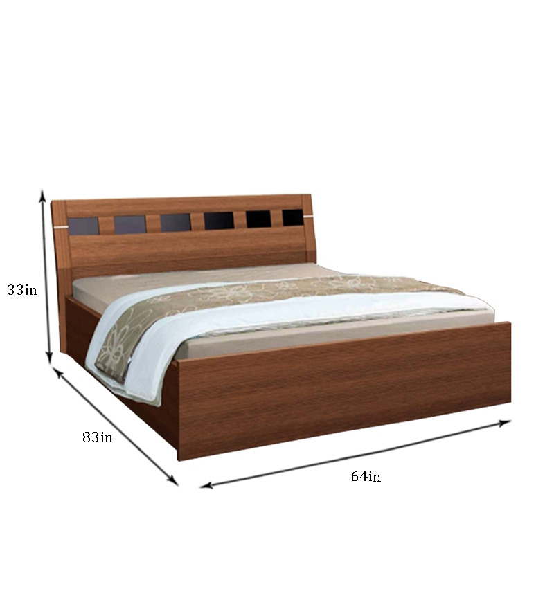 Nilkamal Reegan Queen Size Bed With Storage By Nilkamal