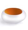 Ni Decor Yellow & White Metal Tea Light Holder