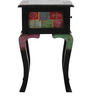 Kalatya Hand Painted End Table with One Drawer by Mudramark