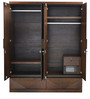 Nixon Four Door Wardrobe in Cherry Colour by @home