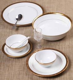 Noritake Regent Gold 45 Pcs Dinner Set