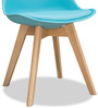 Nordic Chair in Blue Colour by Alex Daisy