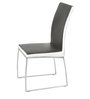 Novel Dining Chair (Set of 2) in Black & White Colour by Godrej Interio