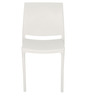 Novella 08 Chair in Milky White Colour by Nilkamal