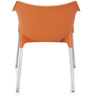 Novella Series - 10 Set of 2 Chairs in Orange Color by Nilkamal